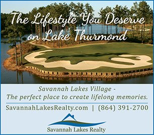 Savannah Lakes Realty Advertisement